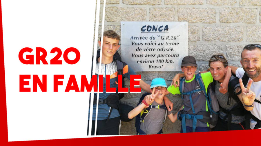 GR20 en Famille avec enfants
